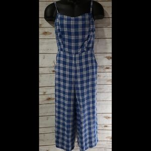 Old Navy Plaid Jumpsuit - Sizes: Small & Large NWT